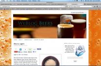 Weblog Beers